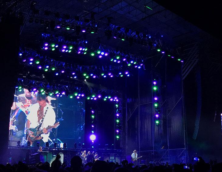 Fluje ilumina a Aerosmith gracias a Robe, Robert Juliat y Vari-Lite