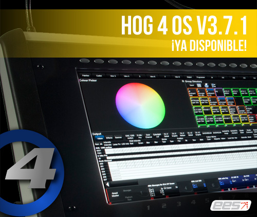 Nuevo software para las HOG 4