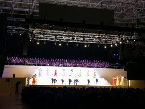 Robe, Vari-Lite y Robert Juliat con Audiomic Producciones engalanan el espectáculo de música y danza Zorba el Griego