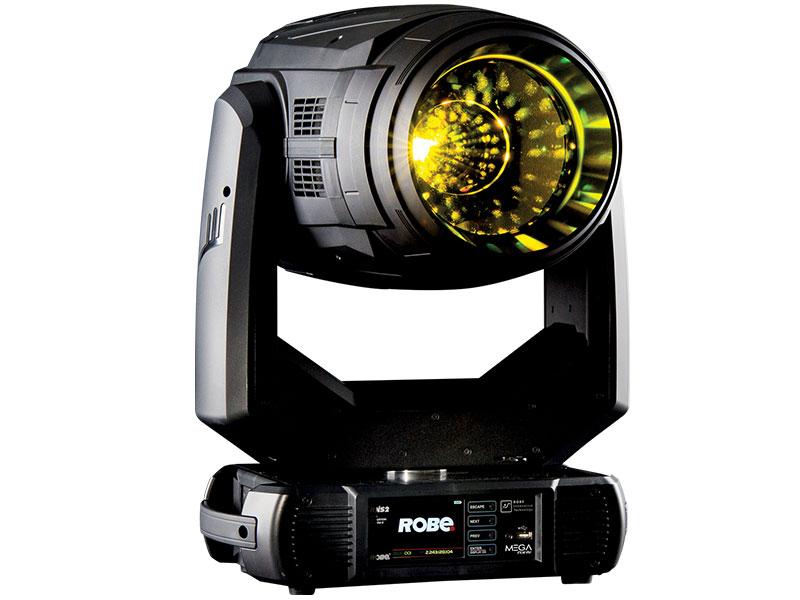 El MegaPointe de Robe mejor equipo de iluminación del año según Live Design