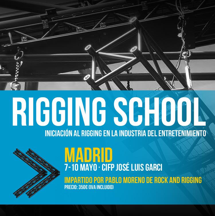 EES - Rigging School: Curso de Iniciación al Rigging en la Industria del Entretenimiento en Madrid