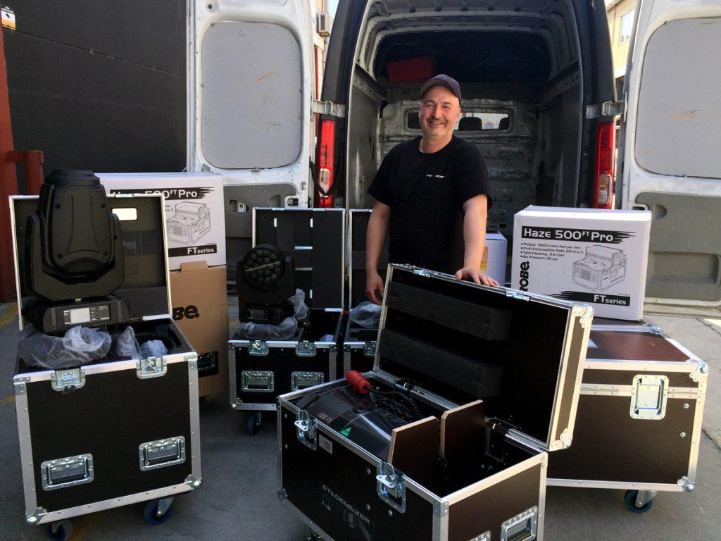 Soinueder amplía sus dotaciones de Robe y Stagemaker