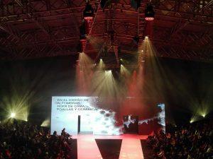 Robe, Robert Juliat, Stagemaker y Luminex marcan tendencia en la Feria Internacional de la moda de Tenerife con Sonopluss Canarias