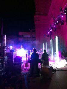 Dorian y Robe se suben al escenario de las fiestas de Alfaro con Varona Producción Técnica