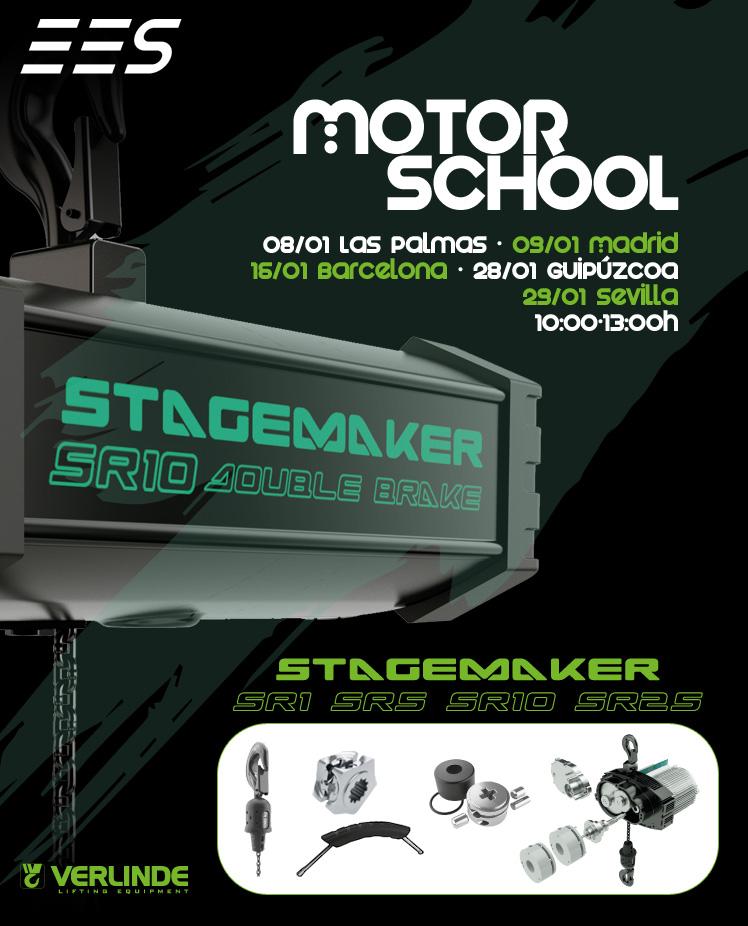 Nuestros Motor School de Stagemaker están de vuelta