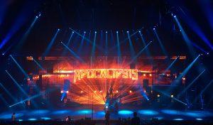 """Juanjo Llorens y Smart Fussion componen un lenguaje lumínico único con Robe, Vari-Lite y Robert Juliat en """"Apocalipsis"""", cuarta entrega del Circo de los Horrores"""