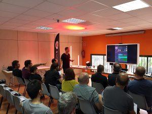 Madrid y Barcelona se conectan al Wireless en nuestras jornadas formativas de Astera y W-DMX