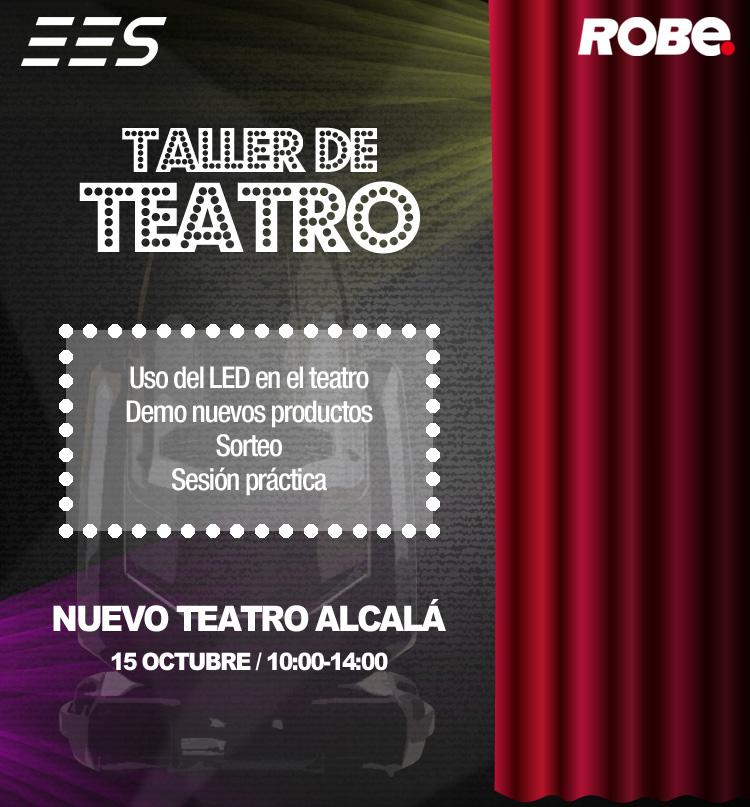 Vuelve nuestro aclamado Taller de Teatro de Robe