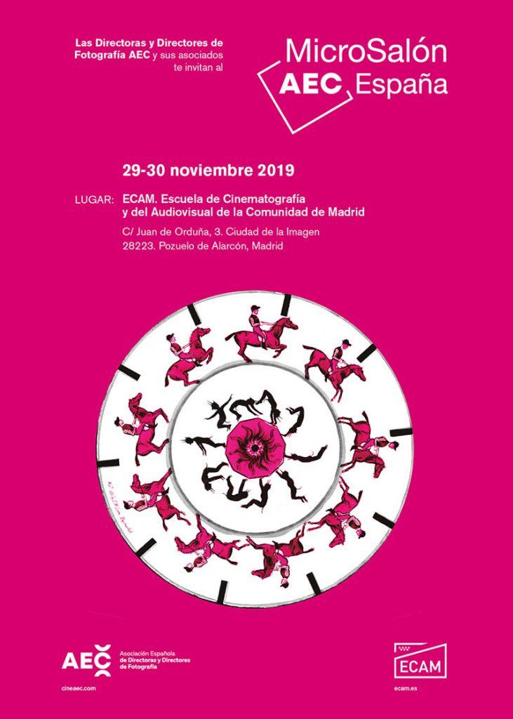 Microsalón AEC 2019 cartel