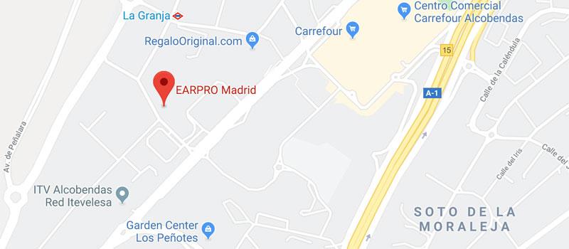 Showroom de EES y Earpro en Madrid