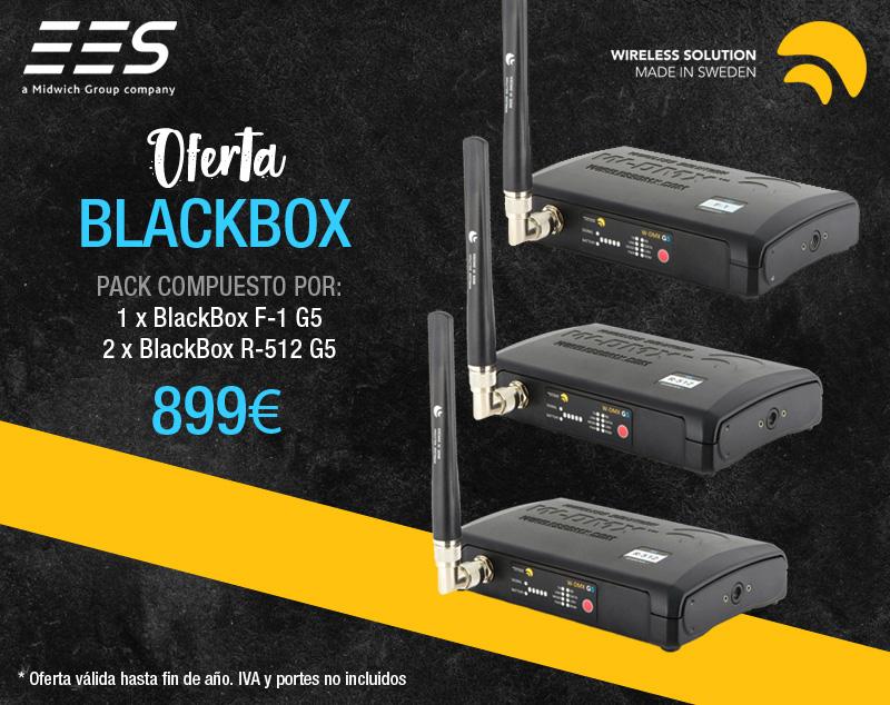 Pack de oferta BlackBox W-DMX