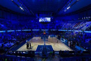 El Iberostar Tenerife conquista el baloncesto mundial con Audiovisuales Alonso y Alonso, Robe, Prolyte, Luminex y Wireless Solution