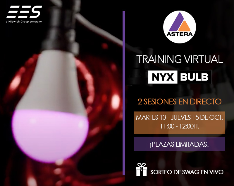 ¡Enciende tu imaginación! Training virtual bombilla Nyx Bulb de Astera