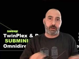 Los subminiatura Duraplex y Twinplex de Shure, protagonistas de nuestro último webinar de Live